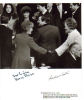 Rosalynn Carter & Nancy Reagan Dual Signed Photo From The Reagan Inauguration - 1981!