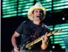Brad Paisley Awesome Autographed On-Stage Closeup Photo!
