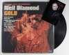 Neil Diamond Vintage Autographed 'Gold' Album Cover with LP!