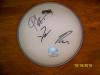 The Jonas Brothers Autographed Drumhead!