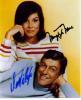 Dick Van Dyke & Mary Tyler Moore Dual Signed Vintage Photo!