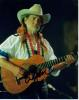 Willie Nelson Nice Autographed Photo!