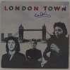 Paul McCartney Very Rare Autographed 'London Town' Album Cover - Cool!