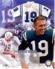 Johnny Unitas (1933-2002) Vintage Signed Index Card With Unsigned 8X10 Photo!