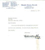 Hubert H. Humphrey Vintage Signed Letter From 1971!