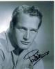 Paul Newman Incredible Vintage B/W Autographed Photo!