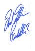 Frank Gorshin 'Riddler' Signed Index Card!