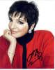 Liza Minnelli Young & Gorgeous Closeup Autographed Photo - Wow!