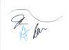 The Jonas Brothers Autographed Guitar Pickguard - Neat!