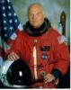 John Glenn Awesome Autographed Color Photo in Uniform - Nice!