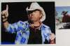 Toby Keith On-Stage Autographed Closeup Photo - Nice!