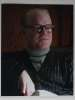Phillip Seymour Hoffman (1967-2014) Awesome 'Capote' Autographed Photo - Rare!