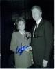Bill Clinton & Barbara Walters Vintage Autographed Photo - Nice!