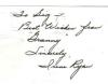 Irene Ryan 'Granny' From The 'Beverly Hillbillies' Extremely Rare Signed Index Card!