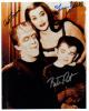 Munsters' Very Rare Signed Photo By Gwynne, DeCarlo & Patrick - Wow!
