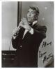 Dean Martin (1917-1995) Awesome & Uncommon Autographed On-Stage Photo!