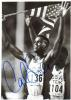 Carl Lewis Olympic Medalist Vintage Signed Photo!