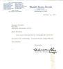 Hubert H. Humphrey Vintage Signed Letter From 1971!