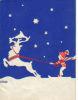 Victor Borge Mini Signed Vintage Christmas Card!