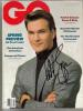Patrick Swayze Rare Signed 'Gq' Magazine From 1989!