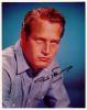 Paul Newman (1925-2008) Young & Vintage Signed Photo - Awesome!