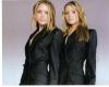 Mary Kate & Ashley Olsen Super Pretty Autographed Photo!
