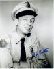 Don Knotts Uncommon Signed Photo As 'Barney Fife'!