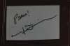 John Denver Very Uncommon Autographed Index Card - Cool!