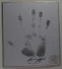 Frank Gifford (1930-2015) Autographed Limited Edition Handprint - Very Unique!