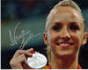 Nastia Liukin 2003 National Gymnastics Champion Signed Photo #1