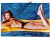 Christie Brinkley Hottt and Young Autographed Photo - Whew!