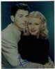 Ginger Rogers (1911-1995) Vintage Autographed Pose with Ronald Reagan - Rare!