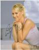 Anna Kournikova Beautiful Profile Autographed Pose!